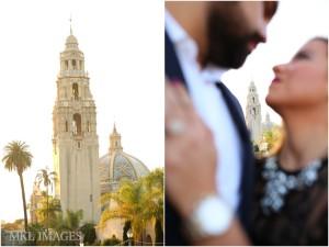 Balboa Park, Engagement Photographer, San Diego, Black Tie, Sexy,