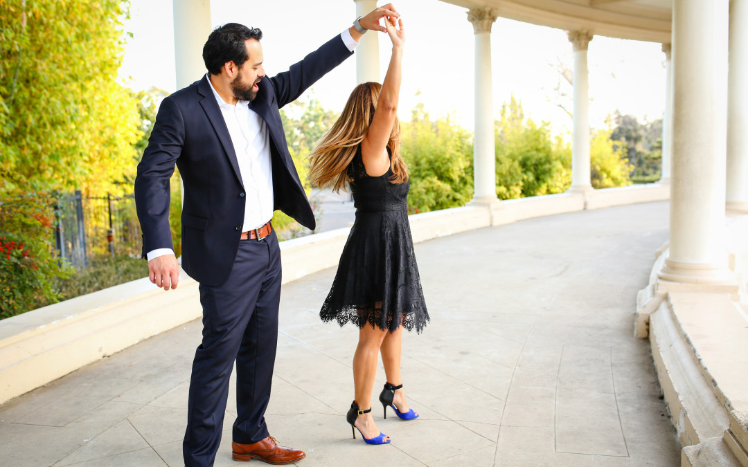 Black Tie Engagement Session | Balboa Park San Diego