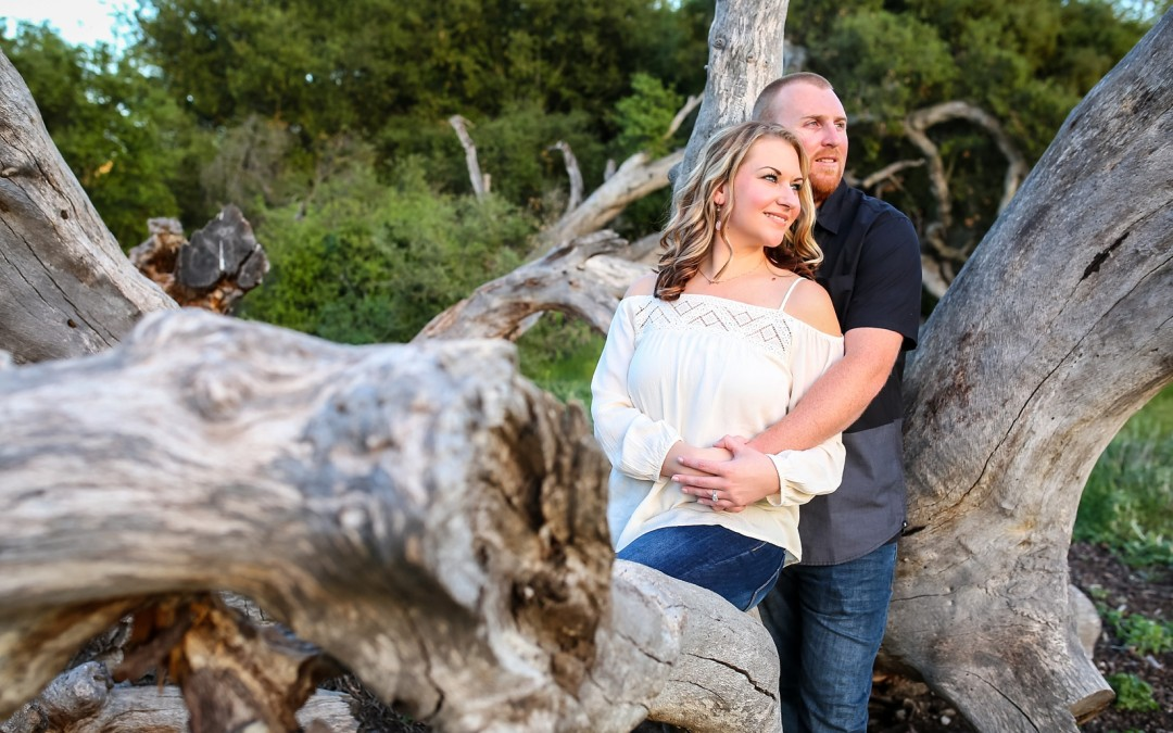 Staci and Nathan Engagement Session | Buena Vista Park | Vista California