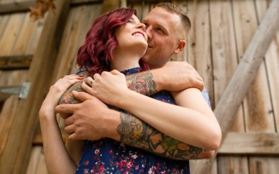 Stone Brewery Engagement Session | Escondido CA