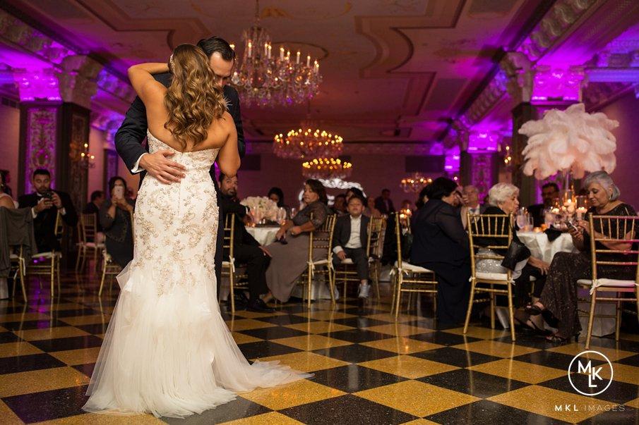 Great Gatsby Inspired Luxury Wedding | U.S. Grant Hotel | San Diego, CA