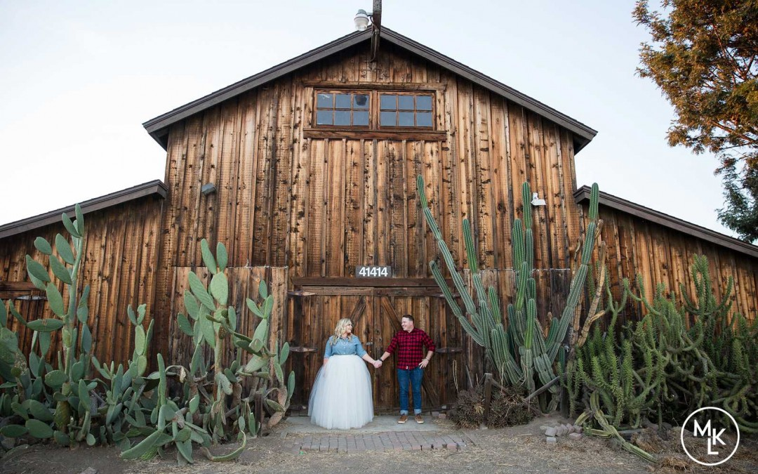Allison and Kyle's Rustic Chic Engagement | Camp Pendleton