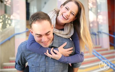 Alyssa and Michael | Downtown Oceanside Engagement Session